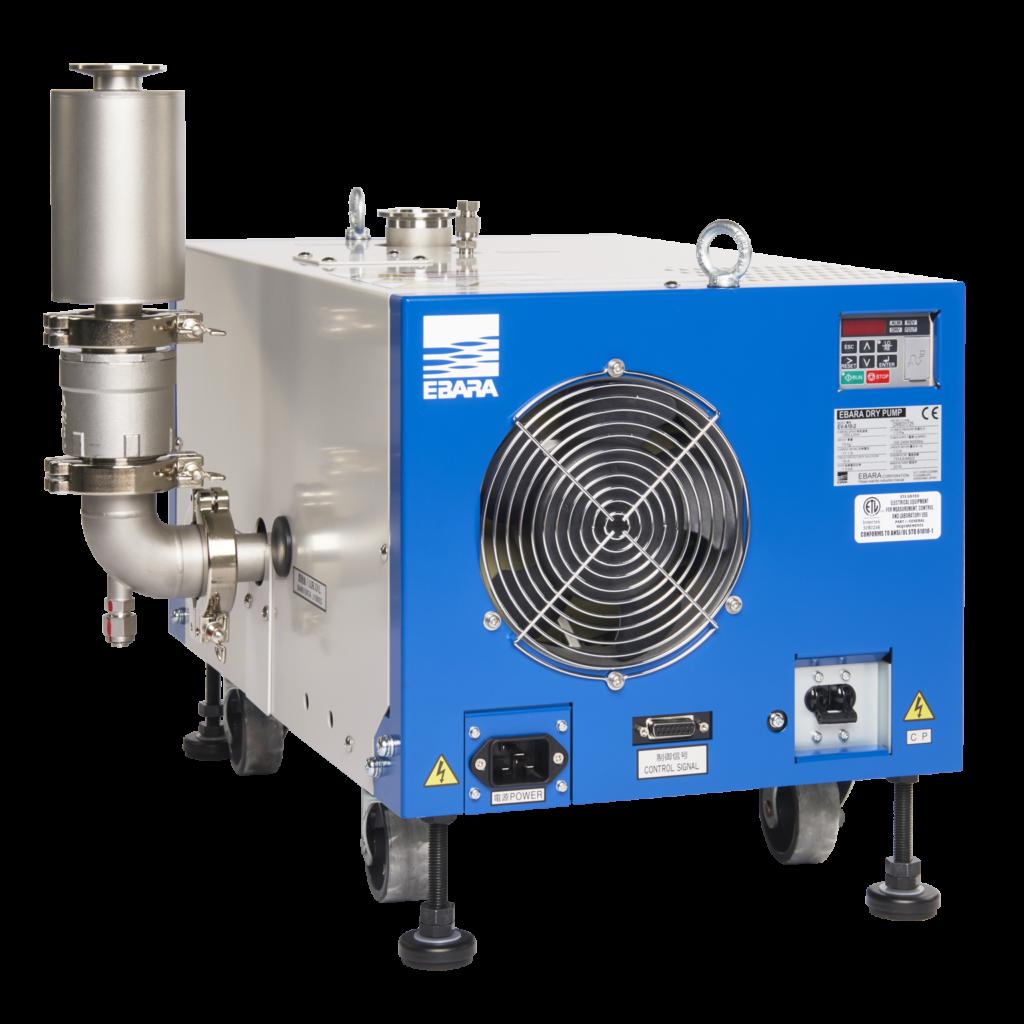 Dry vacuum pump; production, high troughput