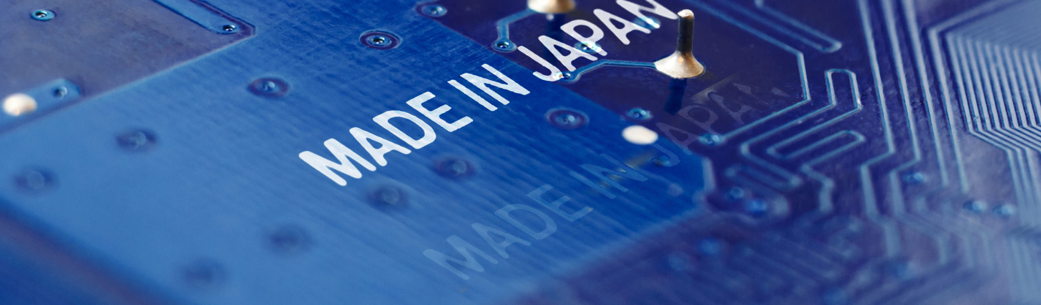 Made in Japan stands for high precision and high quality